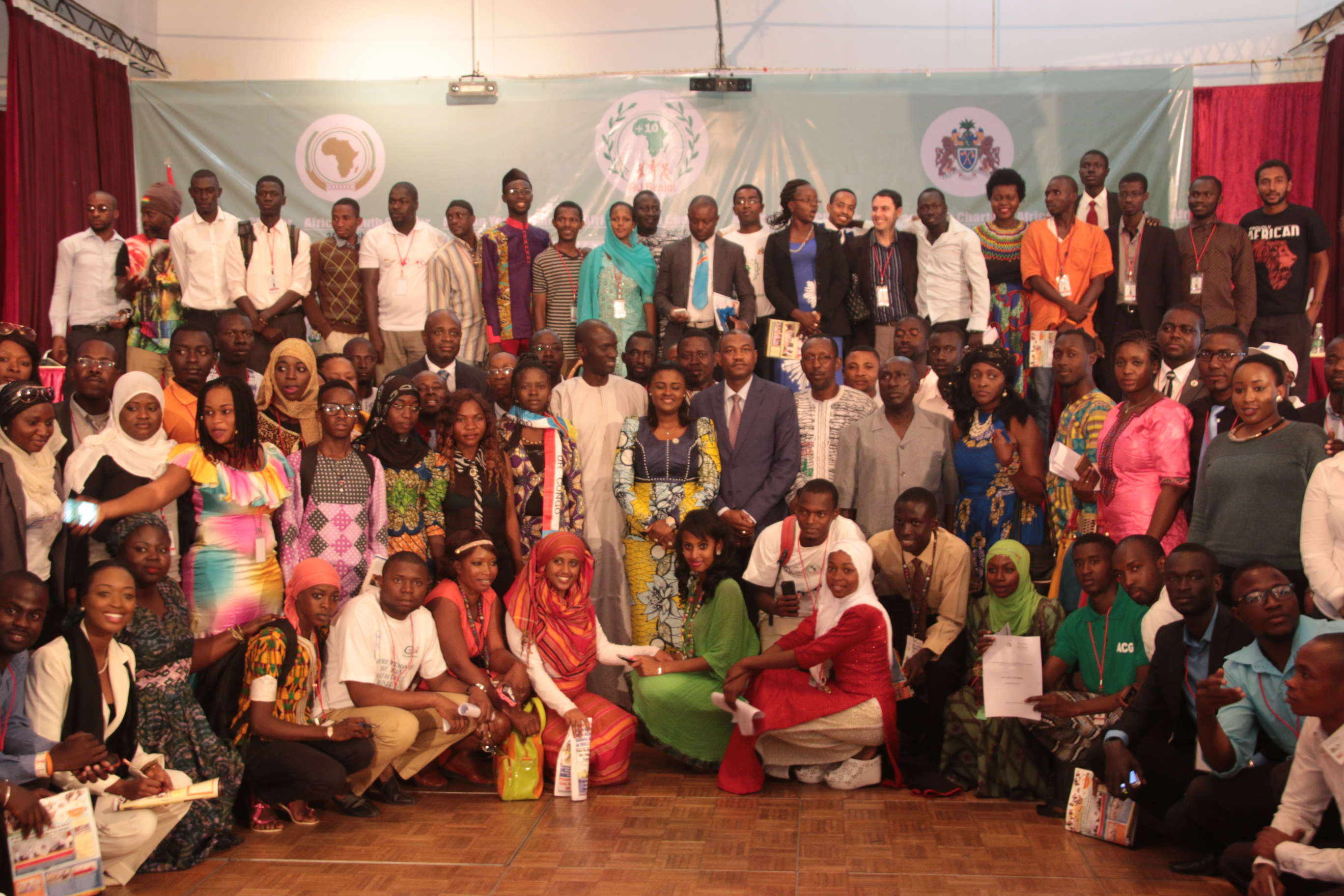 Participants in 10th anniversary of the African Youth Charter